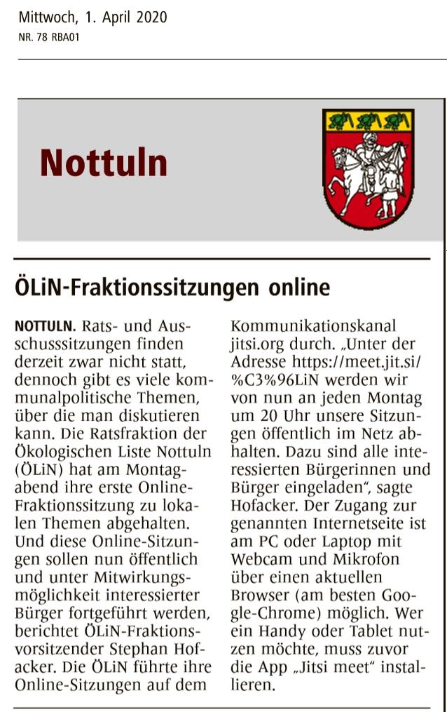 OeLiN online